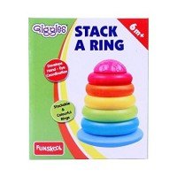 Giggles Stack a Ring, Multi Color