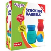 Giggles Stacking Barrels, Multi Color