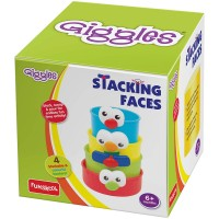 Giggles Stacking Faces (Multicolor)