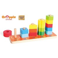 Orapple by R For Rabbit - 3 in 1 Stacking Tower