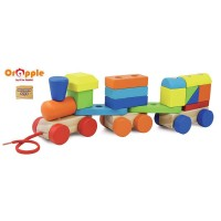 Orapple by R For Rabbit - Multifunctional Blocks Train
