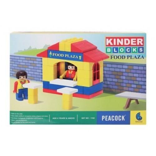 Peacock Kinder Blocks - Food Plaza