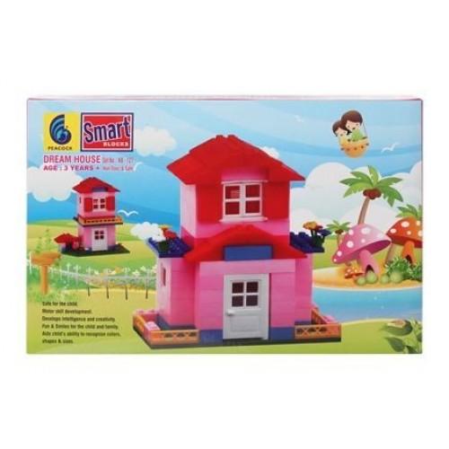 Peacock Smart Blocks Dream House - 157 Pieces