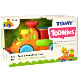 Buy Tomy Pack and Stack Play Truck, Multi Color Online in India