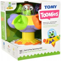 Tomy Sort N Pop Spinning UFO