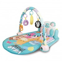 R for Rabbit First Play Musical Gym – The Multipurpose Play Gym for Baby (Blue)