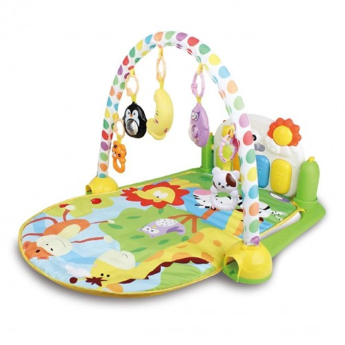 R for Rabbit First Play Musical Gym – The Multipurpose Play Gym for Baby (Green)
