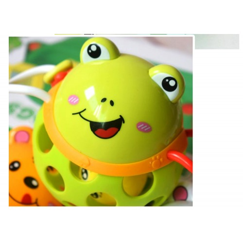 Baby Animal Rattle - Colors May Vary