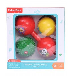 Fisher Price Baby Training Ball 3 Pc Set