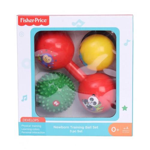 Fisher Price Baby Training Ball 3 Pc Set