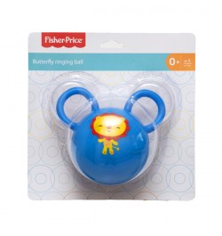Fisher Price Butterfly Ringing Ball - Color May Vary