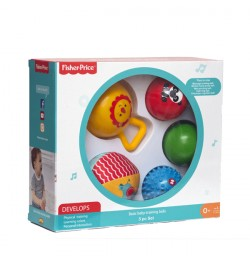 Fisher Price Elementary Training Ball 5 Pc Set