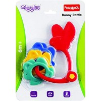 Giggles Bunny Rattle-Multicolour