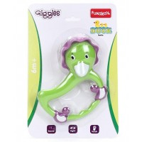 Giggles Duck Rattle-Green