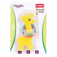 Giggles Giraffe Rattle-Yellow
