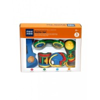 Mee Mee Cute Companion Rattle Set (5 Pieces)