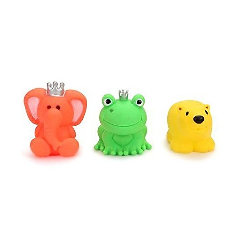 Ratna's Squeezy Toys Animal 3 pcs Pack (Colors may vary)