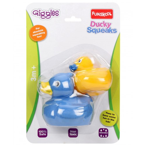 Giggles Ducky Squeaks 2014, Multi Color