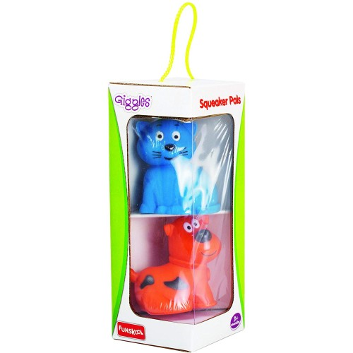 Giggles Squeaker Pals, Multi Color