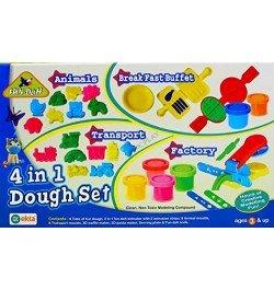 Buy Ekta 4 In 1 Dough Set Online in India