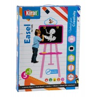 Kirat 5 in 1 Easel for Kids