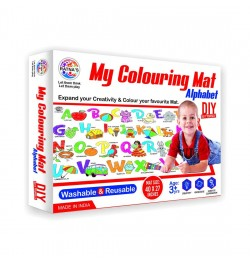 Buy Ratna's My Colouring Mat for Kids - Alphabet Online in India