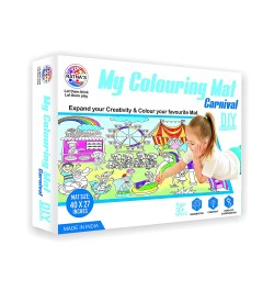 Ratna's My Colouring Mat for Kids - Carnival Theme