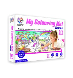 Ratna's My Colouring Mat for Kids - Fairies Theme