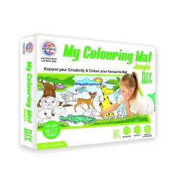 Buy Ratna's My Colouring Mat for Kids - Jungle Theme Online in India