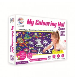 Ratna's My Colouring Mat for Kids - Space Theme