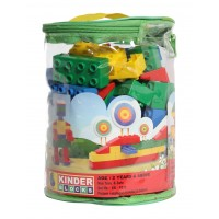 Peacock Kinder Blocks - 75 Pieces