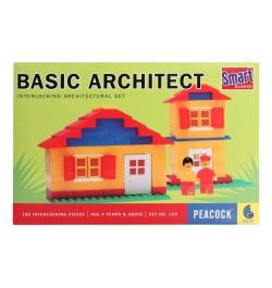 Peacock Smart Blocks Basic Architect - 180 Pieces