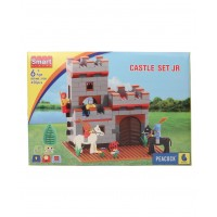 Peacock Smart Blocks Castle Set Junior - 450 Pieces