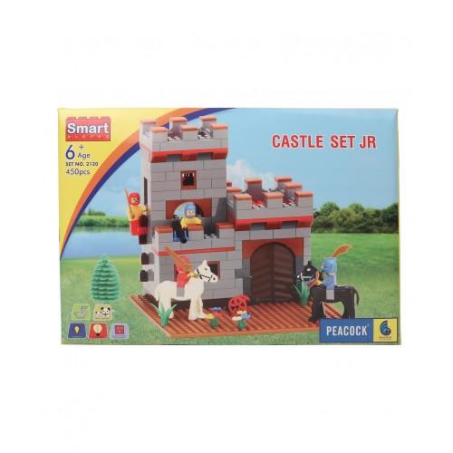 Peacock Smart Blocks Castle Set Junior - 450 Pieces