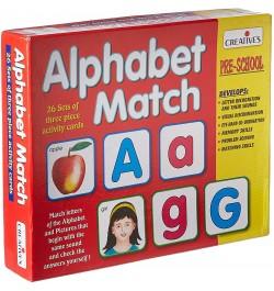 Creative's Alphabet Match
