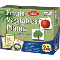Creative's Fruits, Vegetables Their Plants 2 in 1