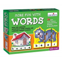 Creative's More Fun With Words Puzzle (Multi-Color)