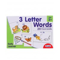 Frank 3 Letter Words Self Correcting Puzzle - 20 Puzzles