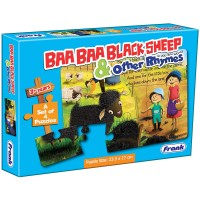 Frank Baa Baa Black Sheep & Other Rhymes Puzzle - 4 Puzzles