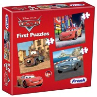Frank Disney Cars First Puzzle - 3 Puzzles