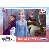 Frank Disney Frozen 2 Puzzle - 108 Pieces