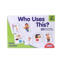 Frank Early Learner Who Uses This Self Correcting Puzzle - 20 Puzzles