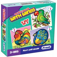 Frank First Puzzle With Wings - 3 Puzzles