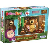 Frank Masha and the Bear Giant Floor Jigsaw Puzzle -24 Pieces