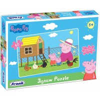 Frank Peppa Pig Jigsaw Puzzle - 60 Pieces