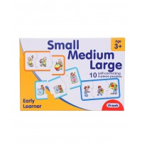 Frank Small Medium Large Self Correcting Puzzle - 10 Puzzles