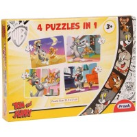 Frank Tom and Jerry Puzzle 4 in 1