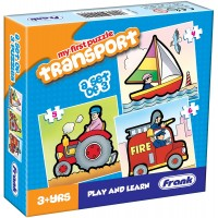 Frank Transport Puzzle - 3 Puzzles
