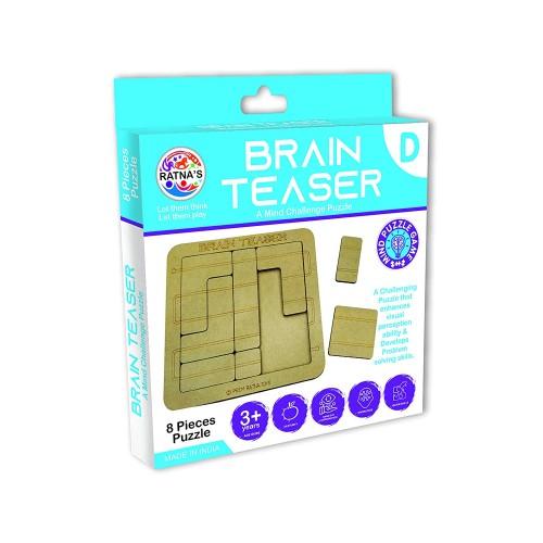 Ratna's Mind Challenging Brain Teaser Puzzle (D)