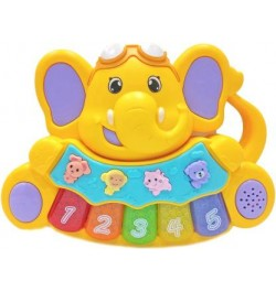 Baby Elephant Mini Musical Piano With Music and Animal sounds